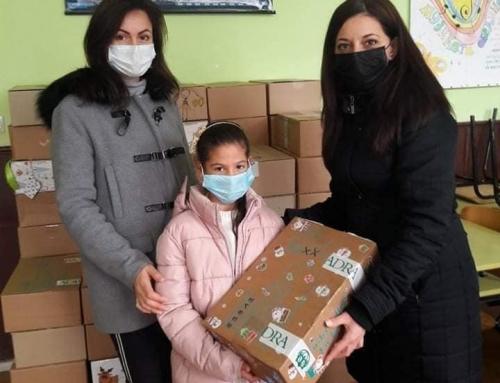 """Дарение от фондация """"Адра"""" за социално слаби ученици"""